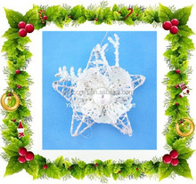 New driver christmas ornament, Christmas stereoscopic&3D hanging ornament, metal star