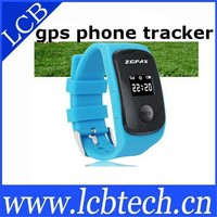 High quality personal gsm gps gprs tracker watch phone support sim card