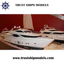 Modern yacht model