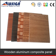 Alusign factory directly sale 3mm wood acm in chnia