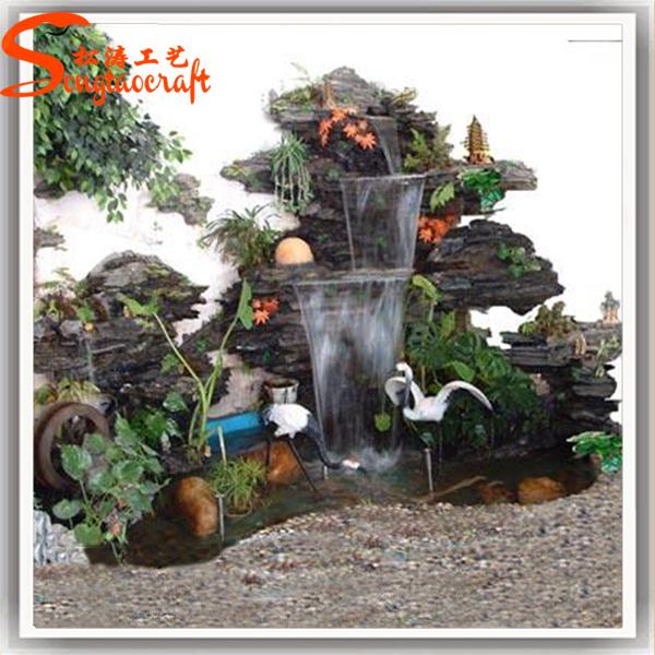 Chine usine de fontaine d 39 eau int rieure artificielle cascade fontaine ca - Cascade artificielle exterieur ...