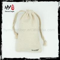 Hot sale linen jewelry bag, small printed linen bag, small linen bag
