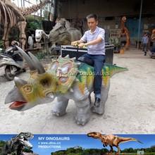 N-A-W-965-zigong my dionosaurs exclusive new walking triceratops foam molded dinosaur