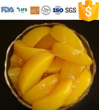 425g canned yellow peach slice in syrup in tin#83 cling, - stock&good price canned food factory