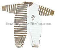 230GSM velvet soft baby long romper-94815