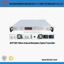 double switching power supply easy condition monitoring 1550nm external modulation optical transmitter