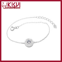 925 silver jewelry with CE certificate hand bracelet Delivery on time