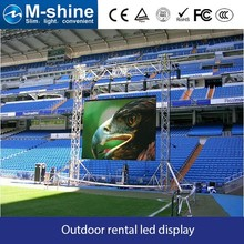 Shenzhen facotry M-shine P6 outdoor rental led display/outdoor event satge led screen/concert led panels