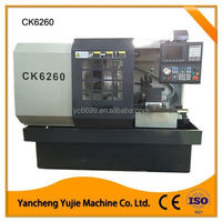 China CNC Turning Lathe Machine price for Alloy Wheel Repair CK6260