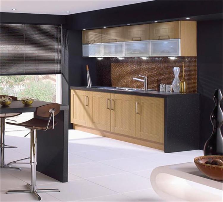 Keuken ontbijt bar, twee kleuren open keuken kast-keuken kasten ...