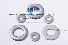 Zinc plated plain washer,roofing bolts and nuts,supplies large range of sizes
