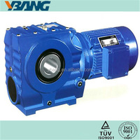 Manual Screw Gear Differential Reducer with Aluminum Box