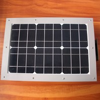 Solar 10 watt integrate sensor panel light street light retrofit hang up high