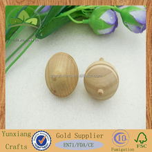 new design wholesale handmade Wooden spinning top toy