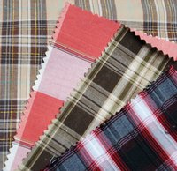 Yarn dyed stripe and check fabric, Yarn Dyed shirting fabric, Yarn dyed cotton flannel