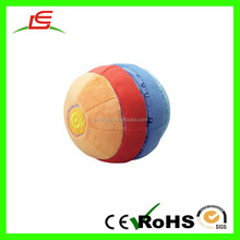 LE Alibaba Supplier Plush Detachable Rolling Ball Toy For Baby