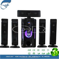 Hot Selling Good Subwoofer Multimedia Speaker for iPhone/iPad,bluetooth and remote