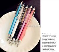 Promotional wholesale gift screen touch stylus diamond pen