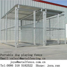 Retail dog cages galvanized dog houses heavy duty dog runs wire welded dog kennels metal folding XXL dog crates