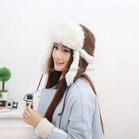 Earmuffs Lei Feng Hat Ear Cap Snowflakes Knitting Warm Trapper Hat Women Russian Hat Sport Outdoor Ear Flaps Bomber Caps For Men