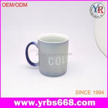 Skeleton head creative ceramic gift mug with black handle