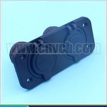 M237 populares Socket cóncava zócalo impermeable Socket doble USB con terminal y tornillo
