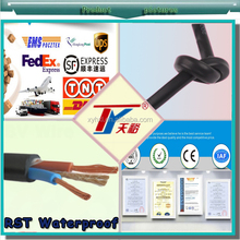 2015 Hot Sale OEM RST Water Resistant Pure Copper 99.99% PVC Insulated Power Wire