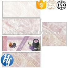 Hy15-309 3d de inyección de tinta de diseño de flores de orquídeas color de cerámica azulejos de la pared