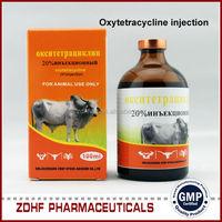 Oxytetracycline hcl injection 20%