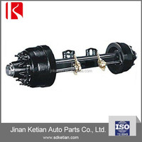 10 Bolt Wheel Hub Outboard Drum Type Trailer Axles