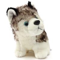 Fashion Animal Husky Dog Great Gift Present Car Supplies Children Kid Toy Puppy Plush Dolls Lovely Cute Warm Soft Pillow Cushion