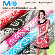 Shaoxing supplier fabric textile rayon fabric