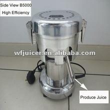 Wf-b5000 máquina de zumo de fruta / cítricos comercial exprimidor