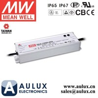 Mean Well 54V 1.77A Power Supply HLG-100H-54A 100W LED Driver Aluminum Case IP65 Rate PFC Function