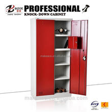 modern multi-function metal clothes cupboard design