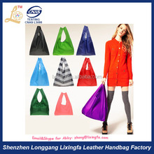 Folding manufacturer direct wholesale reusable tote shopping bag