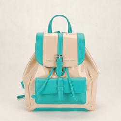 2015 ladies fashion PU leather backpack bag online shopping hong kong