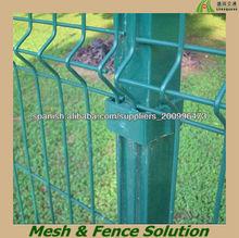 Jardín de metal fábrica valla plastificado