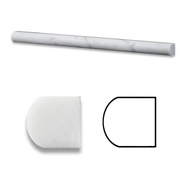 Premium (SELECT) Quality Carrara White molding & baseboard high quality