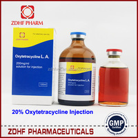 10ml 50ml 100ml 5% 10% 20% 30% Antibiotic Oxytetracycline La Terramycin Injectable 200 100