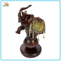 Top quality promotional resin elephant decor / Resin elephant statue in home decor
