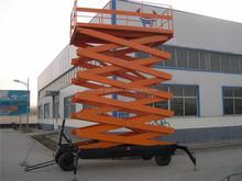 4M hydraulic mobile portable scissor lift mini hydraulic lifter