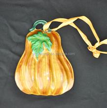 Long pumpkin listing Ornament
