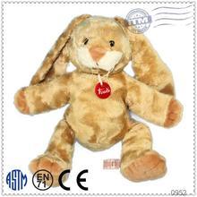 Custom baby keychain production cheap animal plush toy pet rabbit