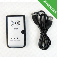 Portable Battery Powered Bluetooth RFID Reader with memory 2000 items function