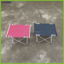 Outdoor foldable aluminium table for camping HQ-1050-43