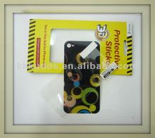 2012 VIP-grade 3Ds skin sticker for iphone 4S