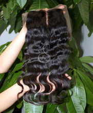 New top AAAA 100% Brazilian hair full front lace closure piece