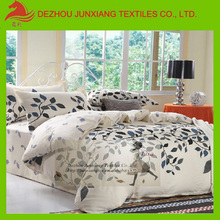 china white dyed printed plain cotton fabric for bedding sheet