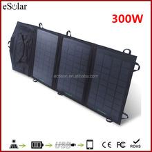 300 watt flexible thin film solar panel for big battery, car, boat etc